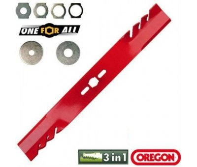 Oregon Bıçak Düz 56CM One For All Gator Mulcher 7'Lİ Kit